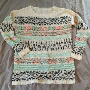 Xhilaration Acrylic Knit Sweater Size Large